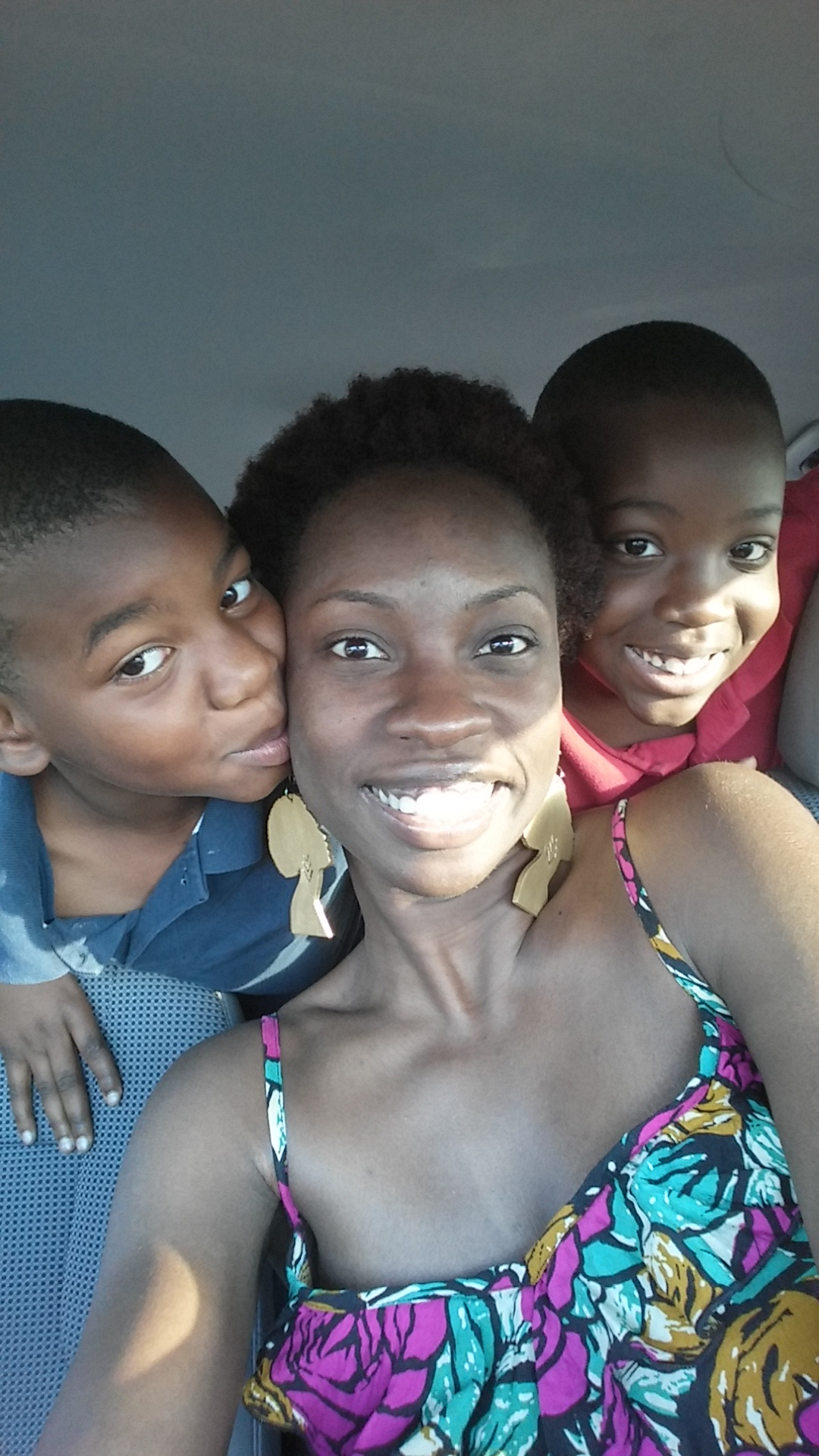 Two of my favorite black boys (my cousins)